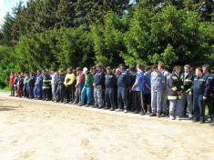 Základní kolo požárního sportu (okrsek) 16. května 2009